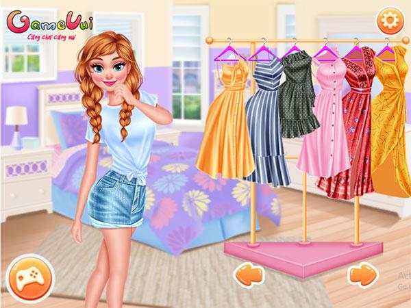 Chọn trang phục cho Anna