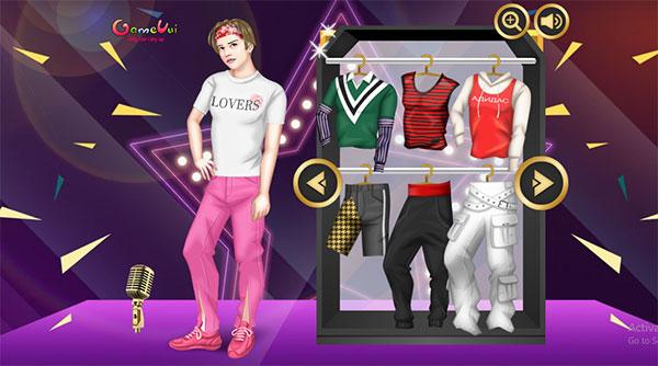 Chọn trang phục cho BTS