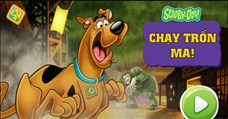 Scooby Doo chạy trốn ma