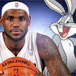 Thỏ Bunny ném bóng rổ