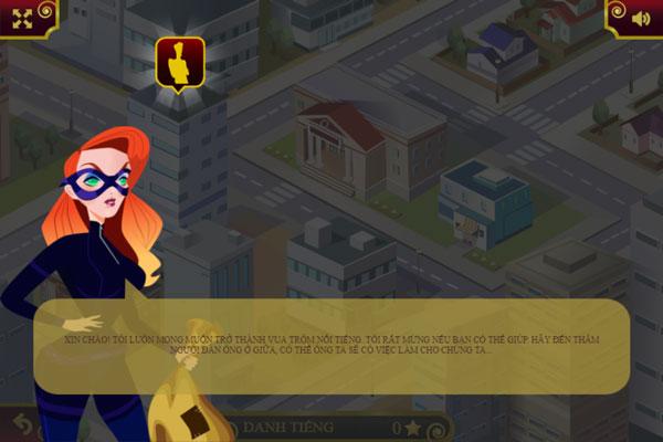 Màn hình chơi game Siêu trộm