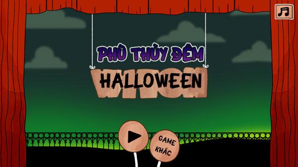Chơi game Phù thủy đêm Halloween - GameVui