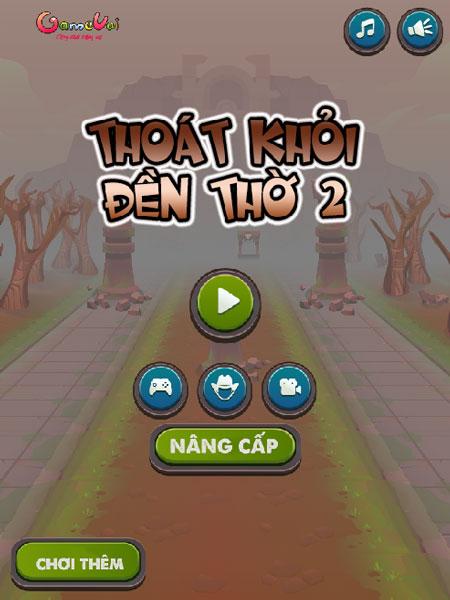 Game Thoát khỏi đền thờ 2 - GameVui