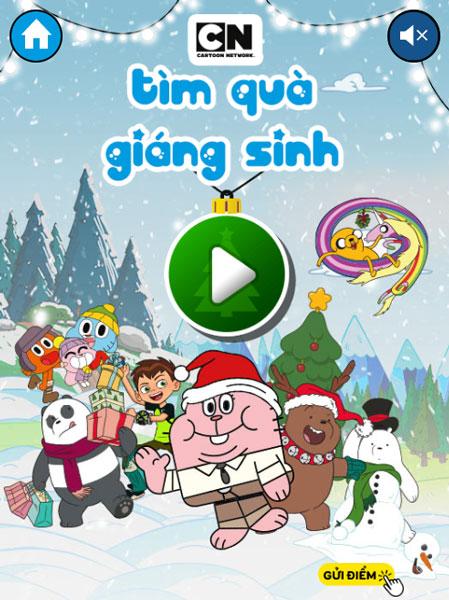 Chơi game Tìm quà Giáng sinh - GameVui