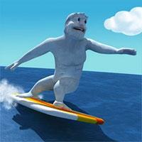 Yeti lướt sóng biển