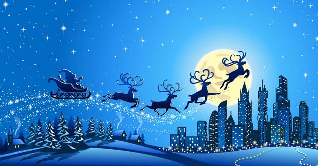 Theo truyện cổ tích, chiếc xe của ông già Noel được kéo bởi bao nhiêu chú tuần lộc?