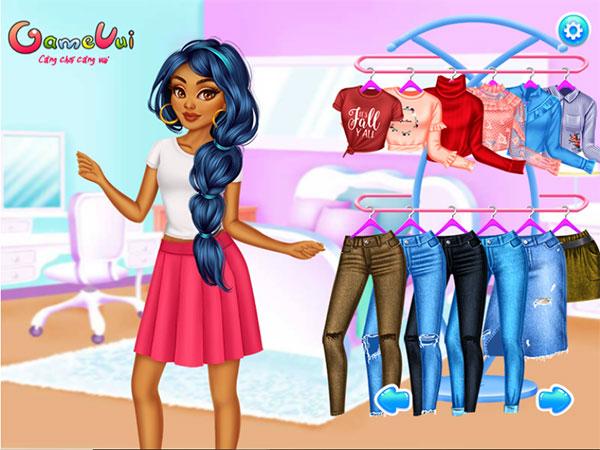 Chọn trang phục cho Jasmine