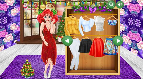 Chọn trang phục cho Ariel