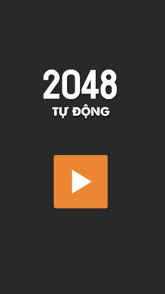Chơi game 2048 tự động - GameVui