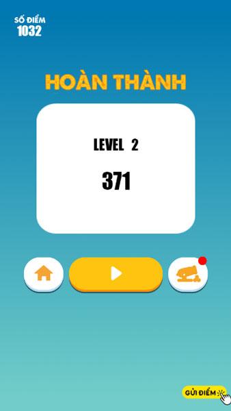 Hoàn thành level thử thách