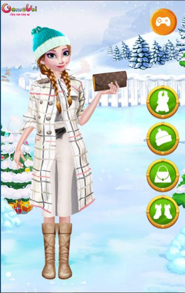Chọn trang phục cho Elsa