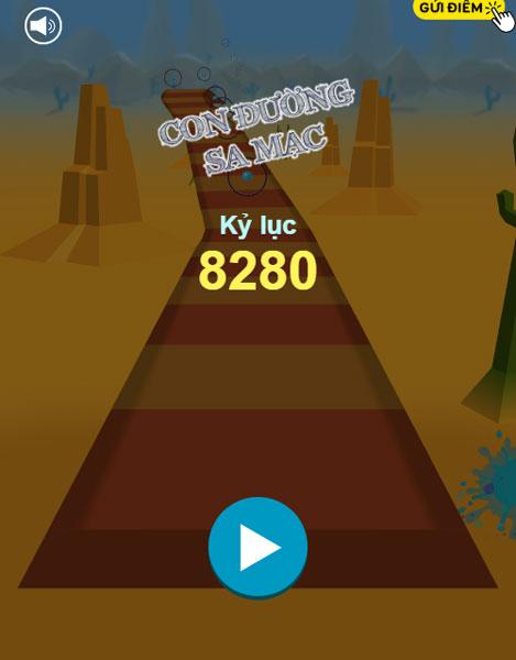 Game Con đường sa mạc - GameVui