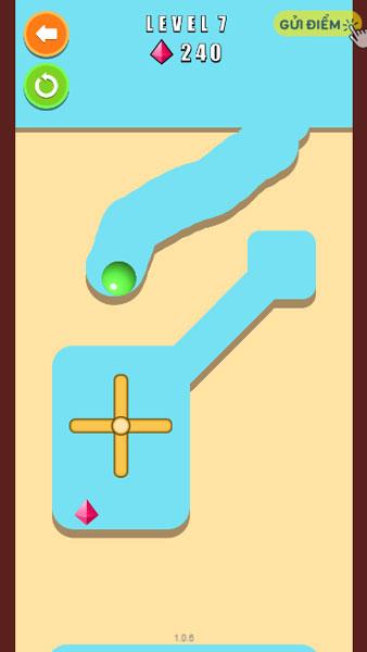 Màn hình chơi game Đào đất