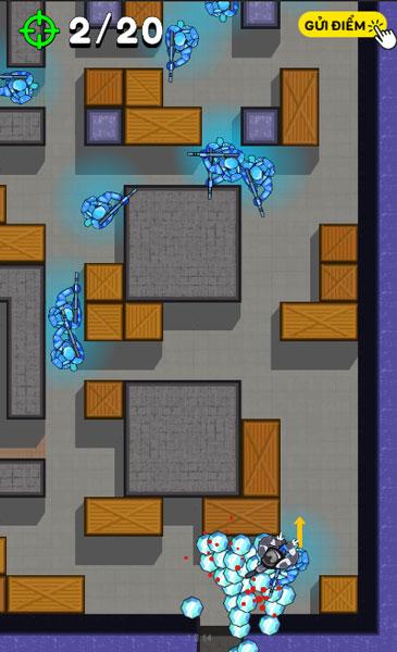 Bấm chuột hoặc chạm màn hình để chơi game