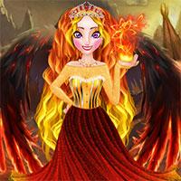 Elsa Fire Queen