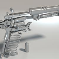 Lắp ráp súng 3D