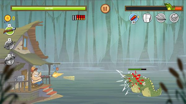 Bắn hạ cá sấu