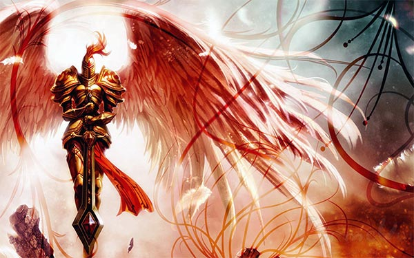 Kayle: Holy Woman clan + Sword Guest type