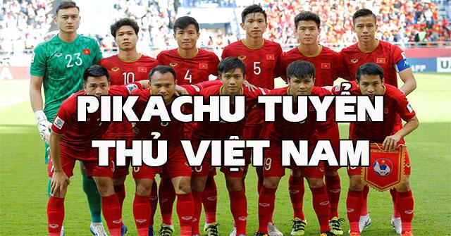 Pikachu Tuyển Thủ Việt Nam