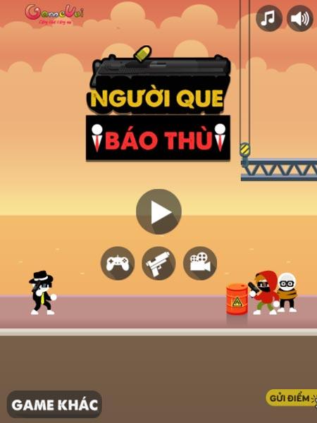 Chơi game Người que báo thù - GameVui
