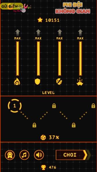 Chơi game Phi đội không gian - GameVui