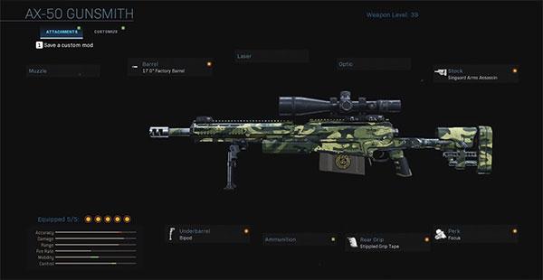 Gun AX-50