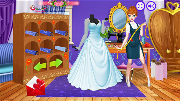 Hãy thiết kế váy cưới cho Elsa