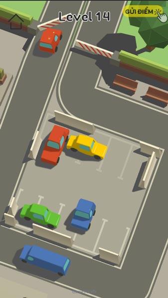 Lần lượt lấy từng chiếc xe ra khỏi bãi xe siêu thị