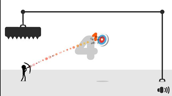 Bắn trúng mục tiêu để ghi điểm