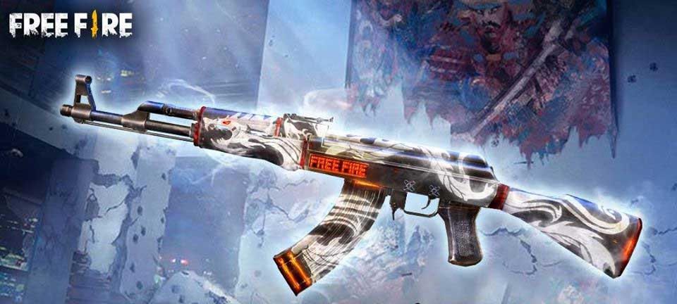 Legend AK47 appears in all FPS games