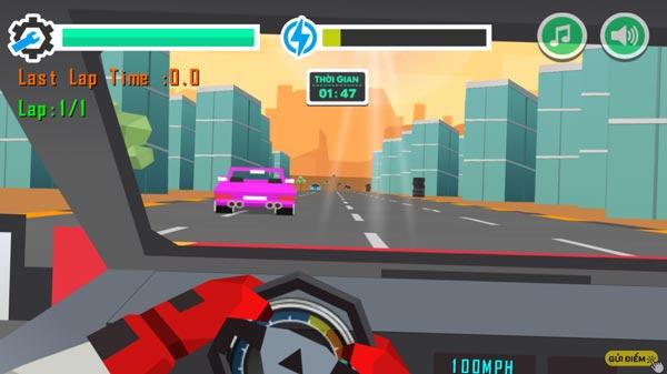 Điểu khiển xe đua địa hình tốc độ cao