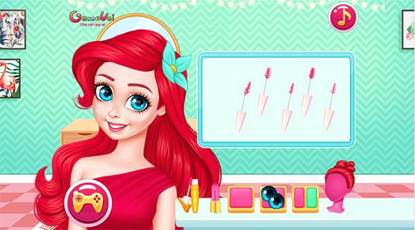 Trang điểm cho Ariel