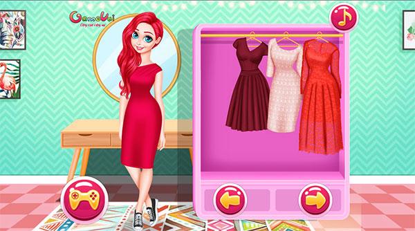 Chọn trang phục sự kiện cho Ariel