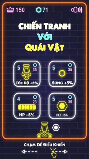 Chơi game Chiến tranh với quái vật - GameVui