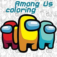 Among Us: Tô màu