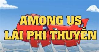 Among Us lái phi thuyền
