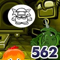 Chú khỉ buồn 562