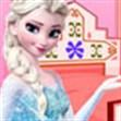 Nữ hoàng tuyết dọn phòng