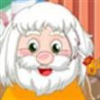 Làm tóc ông già Noel