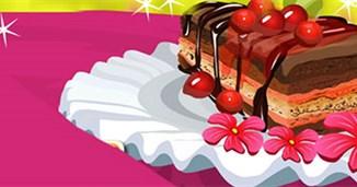 Làm bánh Cherry