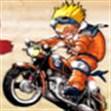 Naruto lái siêu mô tô