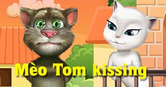 Mèo Tom kissing